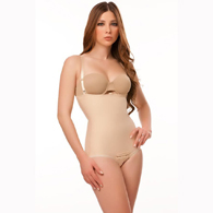 Isavela BS02 Stage 2 Body Suit With Suspenders-Panty Length