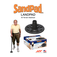 SandPad LandPad All-Terrain Stabilizer for Canes